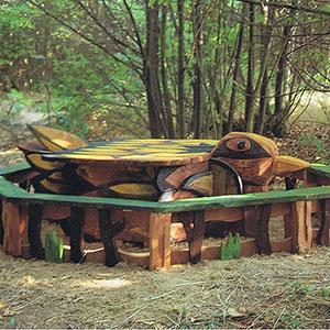 bespoke carved seating